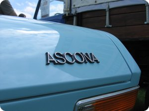 Detail am Opel Ascona A
