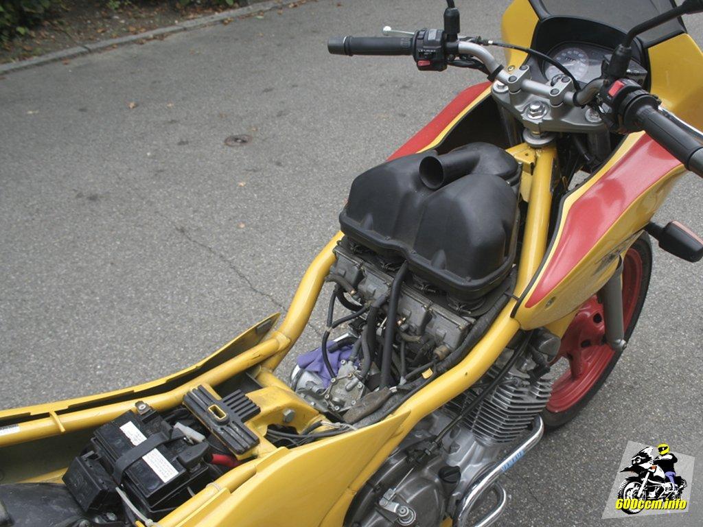 600ccm Info Luftfilterwechsel Yamaha Xj 600 S N