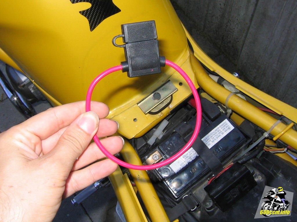 Hochwertige Motorrad Bordnetz Steckdose zum nachrüsten für Stromversorgung