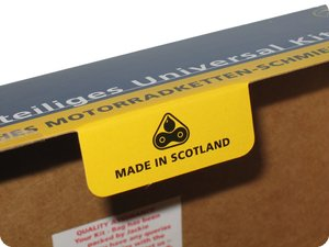 »Made in Scotland« – mit deutschem Aufdruck