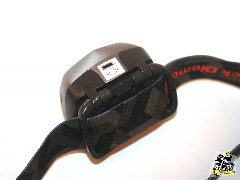 Black Diamond Spot Stirnlampe Batteriewechsel