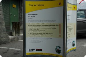 »Tips for bikers«