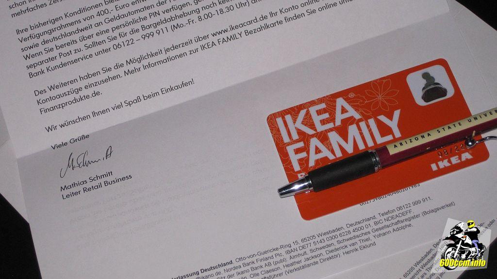 600ccm.info - IKEA Bezahlkarte und Jet? Leider keine